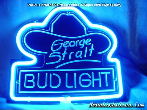 George strait bud light 3d beer bar neon light sig beer bar neon george strait bud light 3d beer bar neon light sign mozeypictures Image collections