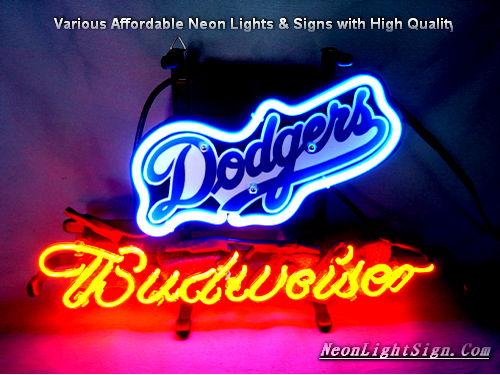 Mlb losangeles dodgers beer neon light sign mlb neonlightsign mlb los angeles dodgers budweiser beer bar neon light sign mozeypictures Image collections