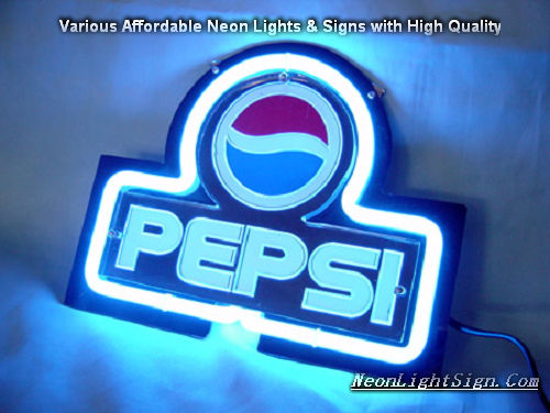 Pepsi Cola 3D Beer Bar Neon Light Sign