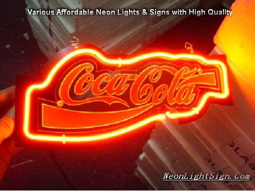 Coco Cola Soda 3D Beer Bar Neon Light Sign