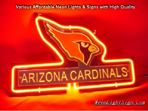 NFL Arizona Cardinals 3D Neon Sign Beer Bar Light