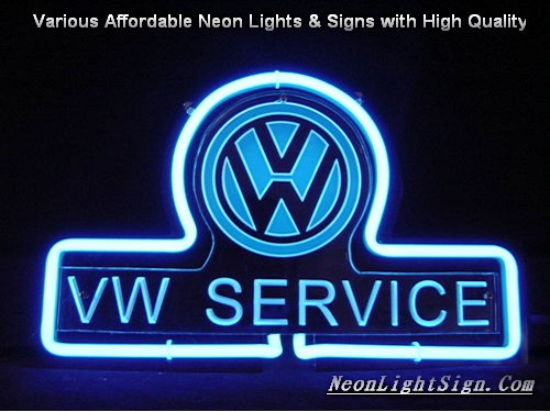 Volkswagen vw service logo 3d beer bar neon light vehicles neon volkswagen vw service logo 3d beer bar neon light sign aloadofball Gallery