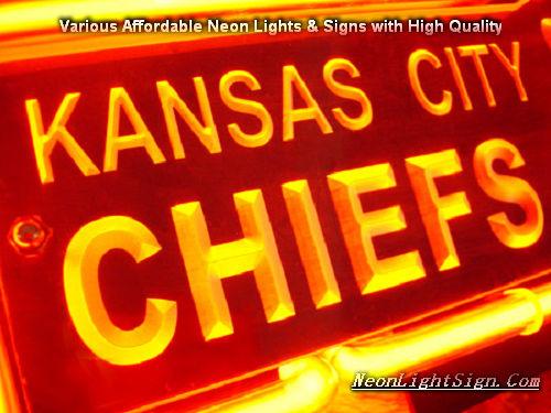 Nfl Kansas City Chiefs 3d Neon Sign Beer Bar Light Neonlightsign