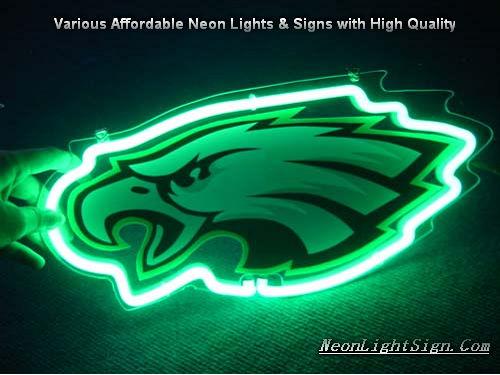 NF LPhiladelphia Eagles 3D Neon Sign Beer Bar Ligh