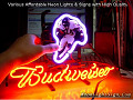 NFL Chicago Bears Walter Payton Budweiser Beer Bar Neon Light Sign