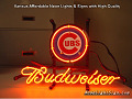 MLB Chicago Cubs Budweiser Beer Bar Neon Light Sign