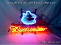 NHL Vancouver Canucks Budweiser Beer Bar Neon Light Sign