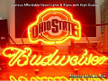 NCAA Ohio State Buckeyes Budweiser Beer Bar Neon Light Sign