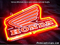 Honda Logo Automobile Neon Bar Light Sign
