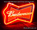 Budweiser Bud 3D Beer Bar Neon Light Sign