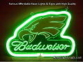 Budweiser Flurescent Beer Bar Neon Light Sign