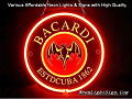 Bacardi BSTDCUBA 1862 Logo 3D Beer Bar Neon Light Sign
