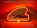 Budweiser Eagle Beer Bar Neon Light Sign