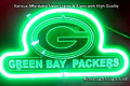 NFL Green Bay Packers 3D Neon Sign Beer Bar Light