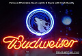 NBA Minnesota Timberwolves Budweiser Beer Bar Neon Light Sign