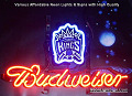 NBA Sacramento Kings Budweiser Beer Bar Neon Light Sign