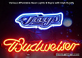 MLB Toronto Blue Jays Budweiser Beer Bar Neon Light Sign
