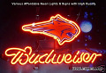 NBA Charlotte Bobcats Budweiser Beer Bar Neon Light Sign