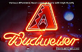 MLB Arizona Diamondbacks Budweiser Beer Bar Neon Light Sign