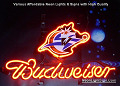 NBA Washington Wizards Budweiser Beer Bar Neon Light Sign