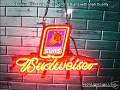 NBA Phoenix Suns Budweiser Beer Bar Neon Light Sign