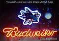 NHL San Jose Sharks Budweiser Beer Bar Neon Light Sign