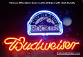 MLB Colorado Roc Budweiser Beer Bar Neon Light Sign
