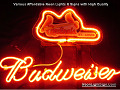MLB ST LOUIS CARDINALS  Budweiser Beer Bar Neon Light Sign