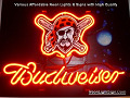 MLB PITTSBURGH PIRATES Budweiser Beer Bar Neon Light Sign
