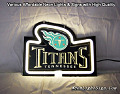 NFL Tennessee Titans 3D Beer Bar Neon Light Sign