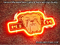 NFL RED DOG 3D Beer Bar Neon Light Sign