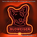 Budweiser Spuds 3D Beer Bar Neon Light Sign