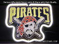 MLB Pittsburgh Pirates 3D Beer Bar Neon Light Sign