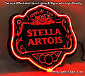 Stella Artois 3D Beer Bar Neon Light Sign