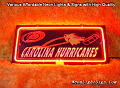 NFL Carolina Hurricanes 3D Beer Bar Neon Light Sign