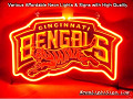 NFL CINCINNATI BENGALS 3D Beer Bar Neon Light Sign