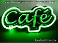 Cafe Coffee 3D Beer Bar Neon Light Sign