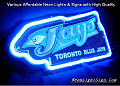 MLB Toronto Blue Jays 3D Beer Bar Neon Light Sign