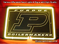 NCAA PURDUE UNIVERSITY BOILERMAKERS 3D Beer Bar Neon Light Sign