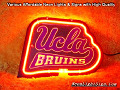 NCAA UCLA Bruins 3D Beer Bar Neon Light Sign