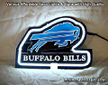 NFL Buffalo Bills 3D Beer Bar Neon Light Sign