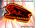 JAGUAR RACING 3D Beer Bar Neon Light Sign