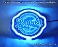 MLB Kansas City Royals 3D Beer Bar Neon Light Sign