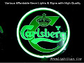 Carlsberg 3D Beer Bar Neon Light Sign