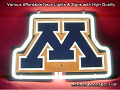 NCAA MINNESOTA GOLDEN GOPHERSSALEM 3D Beer Bar Neon Light Sign