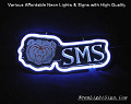 SMS 3D Beer Bar Neon Light Sign
