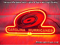 NHL CAROLINA HURRICANES 3D Beer Bar Neon Light Sign