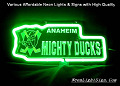 NHL ANAHEIM MIGHTY DUCKS 3D Beer Bar Neon Light Sign