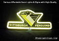 NHL PITTSBURGH PENGUINS 3D Beer Bar Neon Light Sign