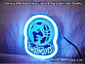 NBA Timberwolves 3D Beer Bar Neon Light Sign